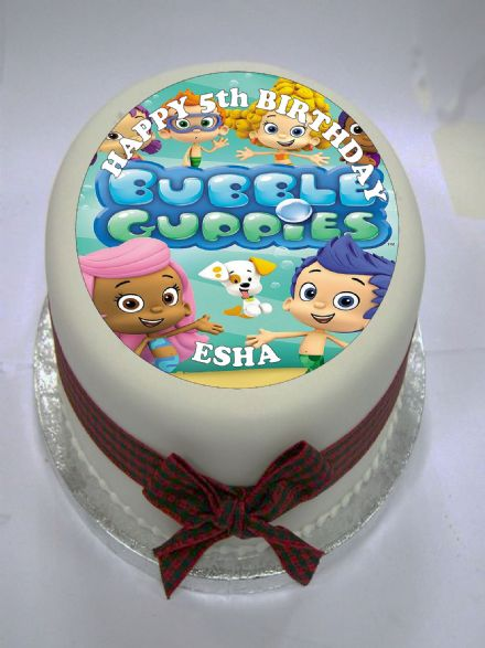 Bubble Guppies Edible Cake Topper